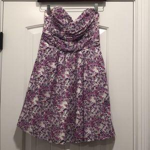 Express size 4 floral summer dress